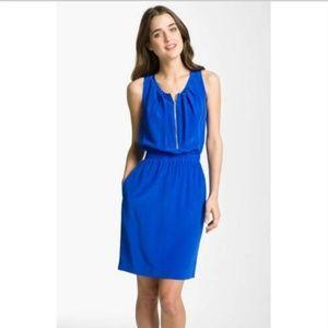 ELIZA J Dress Size S Silk Sleeveless Scoop Neck